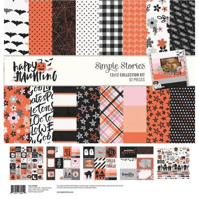 Simple Stories Collektion Kit - Happy Haunting