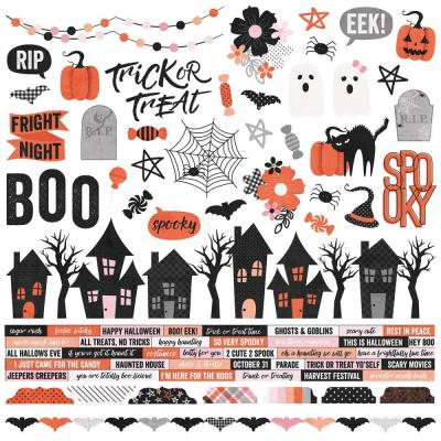 Simple Stories Stickerbogen - Happy Haunting - Stickers