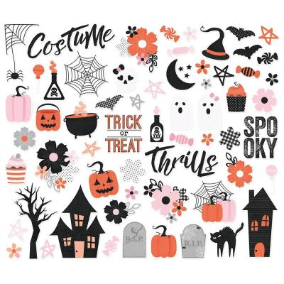 Simple Stories Die-Cuts - Happy Haunting  - Bits & Pieces