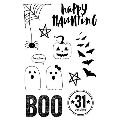 Simple Stories Clear Stamps - Happy Haunting - Boo