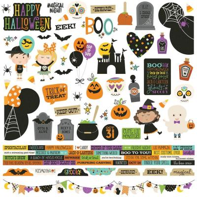 Simple - Say Cheese Halloween - Stickers