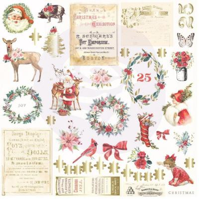 Prima Marketing - Ephemera - Christmas In The Country