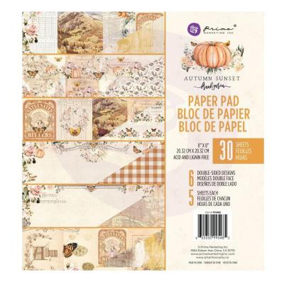 Prima Marketing - Paper Pad - Autumn Sunset