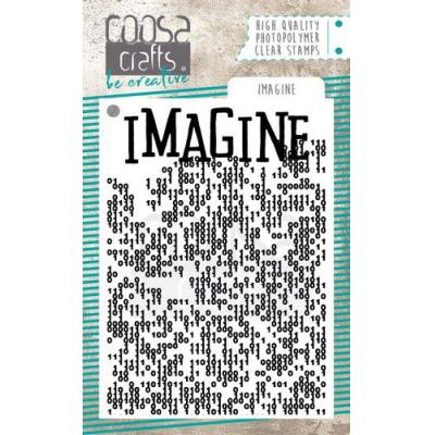 COOSA Crafts Clear Stamp - Imagine