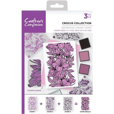 Crafter's Companion Clear Stamps - Crocus Collection