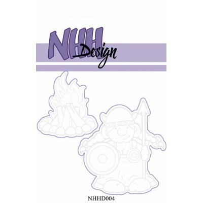 NHH Design - Outline-Stanzschablonen - Viking Woman