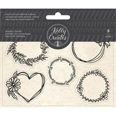 Kelly Creates - Clear Stamps - Wreaths