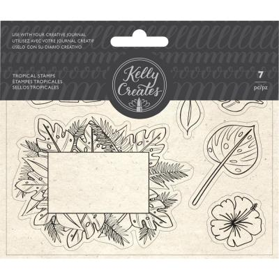 Kelly Creates - Clear Stamps - Tropical