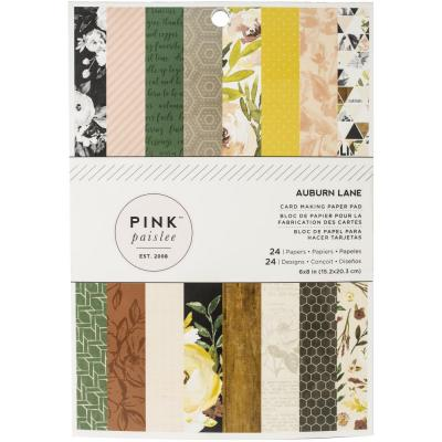 American Crafts - Single-Sided Paper Pad - Auburn Lane