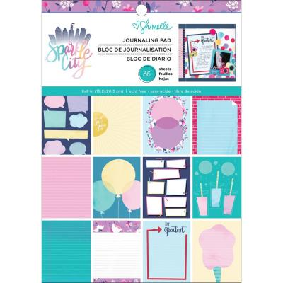 American Crafts - Single-Sided Paper Pad - Shimelle Sparkle City