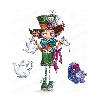 Stamping Bella - Cling Stamps - Oddball Mad Hatter