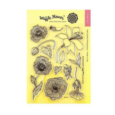 Waffle Flower - Clear Stamps - Bouquet Builder 4