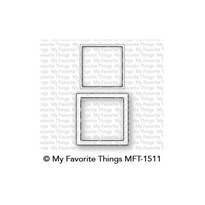 My Favorite Things Die-namics - Stanzschablonen - Mini Square Shaker Window & Frame