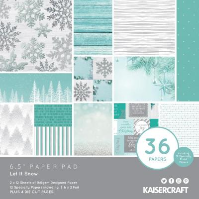 Kaisercraft Let It Snow - Paper Pad