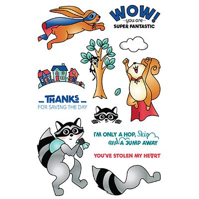 LDRS Creative Clear Stamps - Super Critters