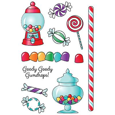 LDRS Creative Clear Stamps - Goody Gumdrops