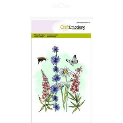 CraftEmotions - Clear Stamps - Wildblumen 2
