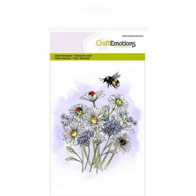 CraftEmotions - Clear Stamps - Wildblumen 1
