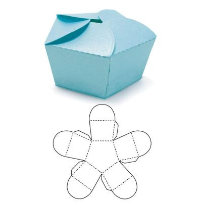 We R Memory Keepers - Stanzschablone - Template Die Star Box