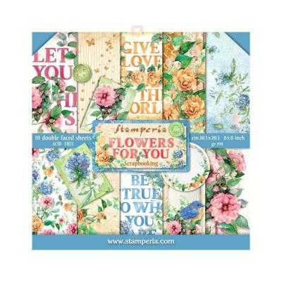 Stamperia Flowers for You - Paper Pack