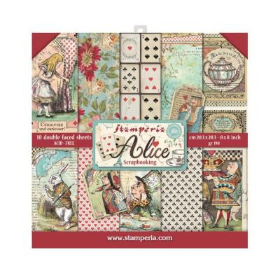 Stamperia Alice - Paper Pack