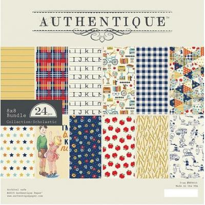 Authentique Paper Pad - Scholastic