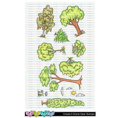 C.C. Designs Clear Stamps - Create A Scene
