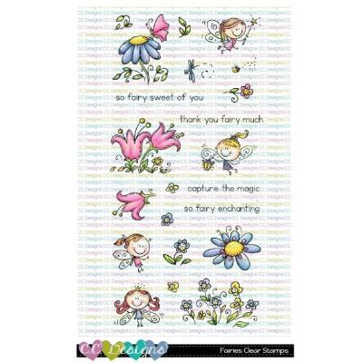 C.C. Designs Clear Stamps - Fairies