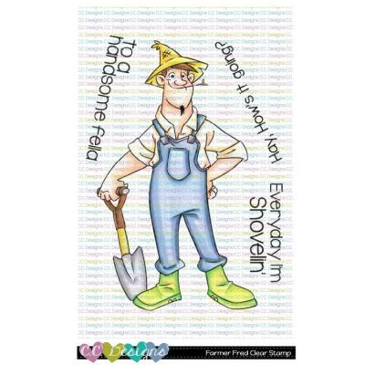 C.C. Designs Clear Stamps - Farmer Fred