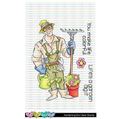 C.C. Designs Clear Stamps - Gardening Don