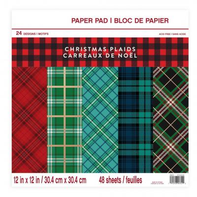 Craft Smith Designpapier - Christmas Plaids
