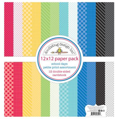 Doodlebugs School Days - Petite Print Assortment