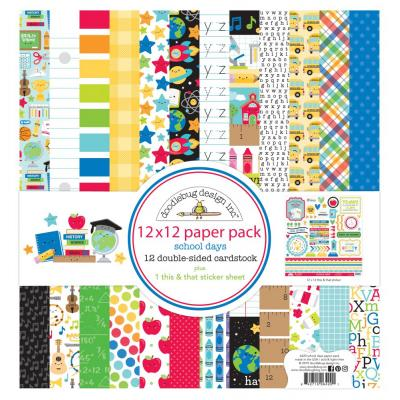 Doodlebugs School Days - Paper Pack