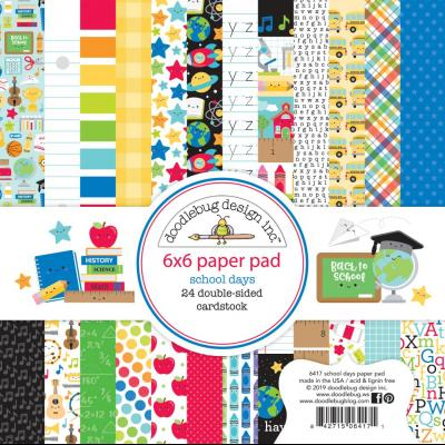 Doodlebugs School Days - Paper Pad