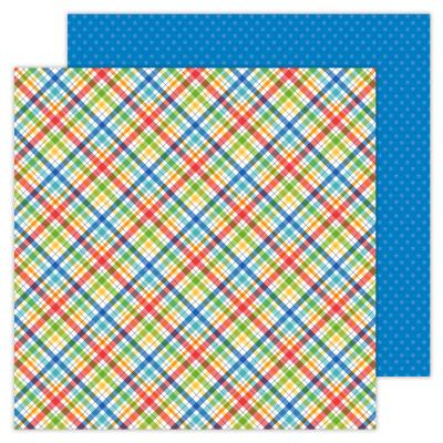 Doodlebugs School Days - Playground Plaid