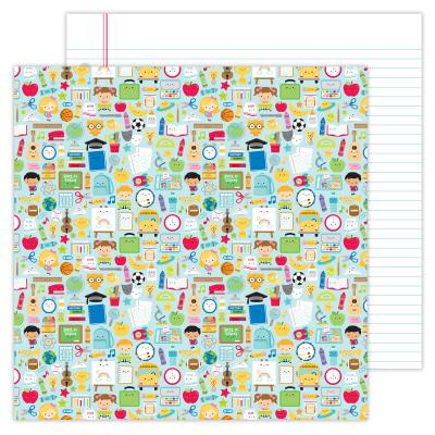 Doodlebugs School Days Designpapier - School Days