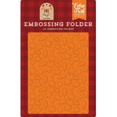 Echo Park Fall Is In The Air - Embossing Folder