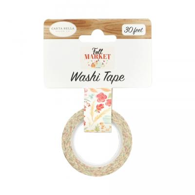 Carta Bella Fall Market Washi Tape - Fall Floral