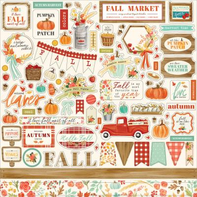 Carta Bella Fall Market - Element Sticker