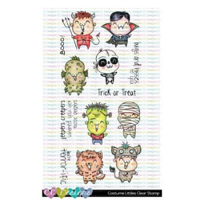 C.C. Designs Clear Stamps - Costume Littles