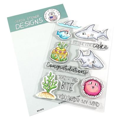 Gerda Steiner Clear Stamps - Big Bite