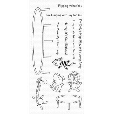 My Favorite Things Clear Stamps - Hop, Flip, and a Jump