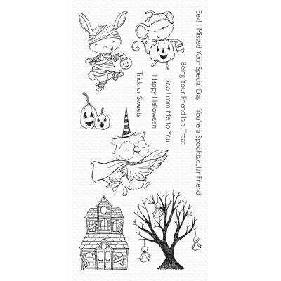 My Favorite Things Clear Stamps - Spooktacular Friends