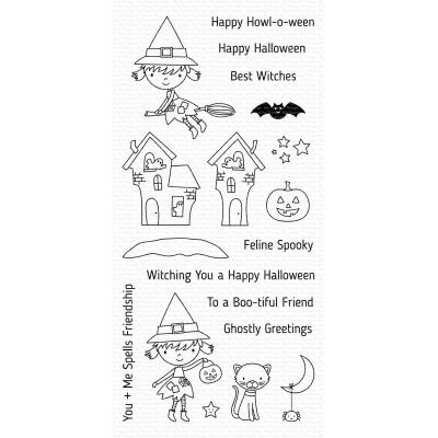 My Favorite Things Clear Stamps - Best Witches