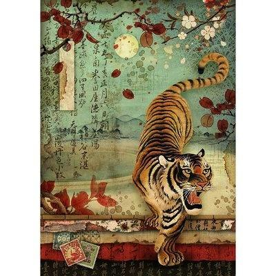 Stamperia Rice Paper - Tiger