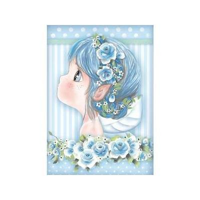 Stamperia Rice Paper - Light Blue Fairy