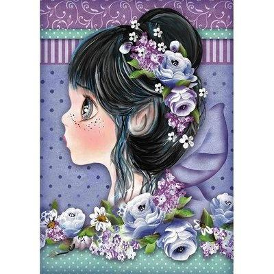 Stamperia Rice Paper - Lilac Fairy