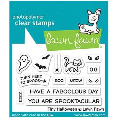 Lawn Fawn Clear Stamps - Tiny Halloween