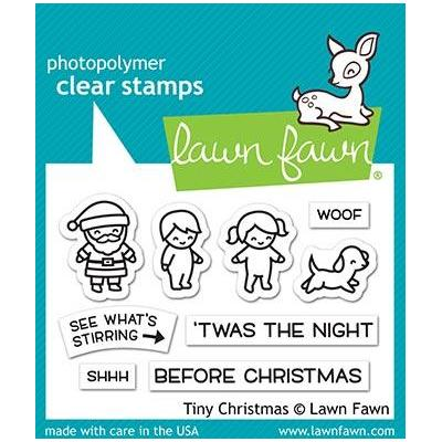 Lawn Fawn Clear Stamps - Tiny Christmas