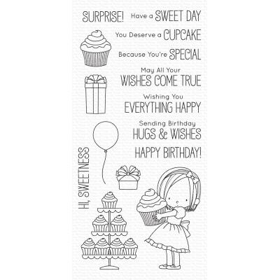 My Favorite Things Clear Stamps - Sweet Birthday Wishes